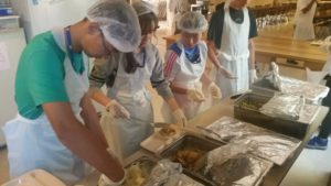 Serve meals to the homeless in Berkeley
